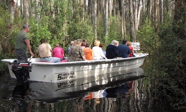 Guided Boat Tour - Okefenokee Swamp Park