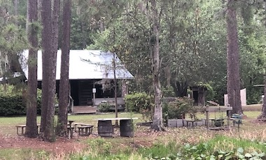 Highsmith Cabin on Pioneer Island - Okefenokee Swamp