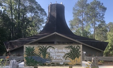 Okefenokee Swamp Park Gift Shop Entrance
