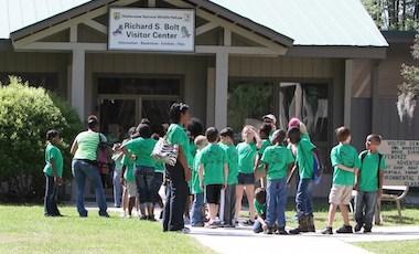 Richard Bolt Visitor Center - Okefenokee National Wildlife Refuge - Okefenokee Swamp