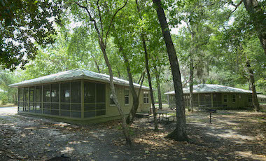 Cottages - Stephen C. Foster State Park - Okefenokee Swamp