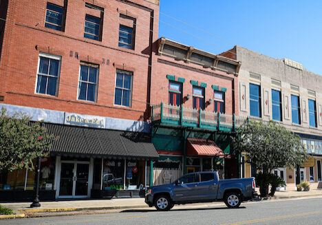 Waycross, Georgia - Downtown Buildings
